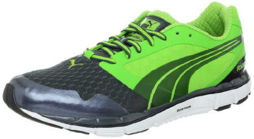PUMA Men's faas 500 v2-m, Dark Grey/Green/Black 8.5 D US