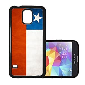 Shawnex Chile Flag Grunge Distressed Thinshell Case Protective Samsung S5 Fits Samsung Galaxy S5