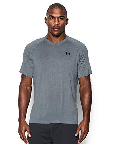 Under Armour Men's Tech Short Sleeve T-Shirt, Steel (038), Medium