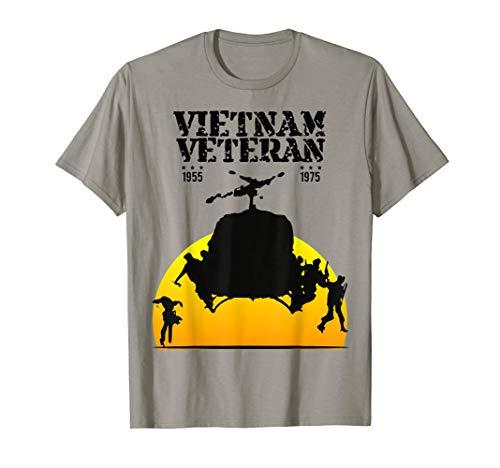 Vietnam Veteran helicopter Bell UH-1 Huey Vintage