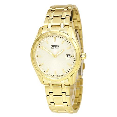 Citizen-Mens-Eco-Drive-AU1042-53P-Bracelet-Analog-Display-Gold-Watch