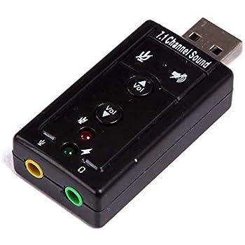 Amazon.com: Tarjeta de sonido externa USB, 6 canales 5.1 ...