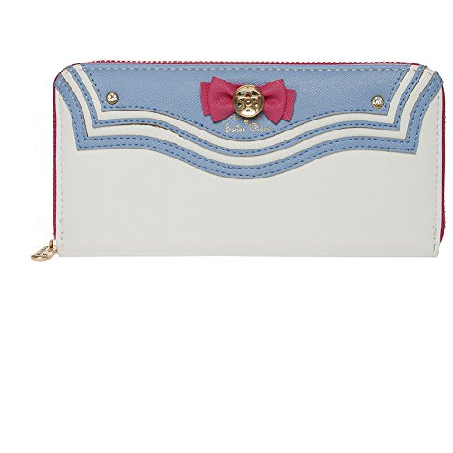 Indressme Girls Cute Multi Card Case Full Round zipper Sailor Moon Kawaii Wallet