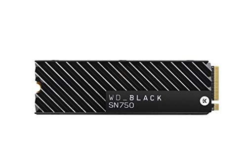 WD_Black 1TB SN750 NVMe Internal Gaming SSD Solid State Drive with Heatsink - Gen3 PCIe, M.2 2280, 3D NAND, Up to 3,470…