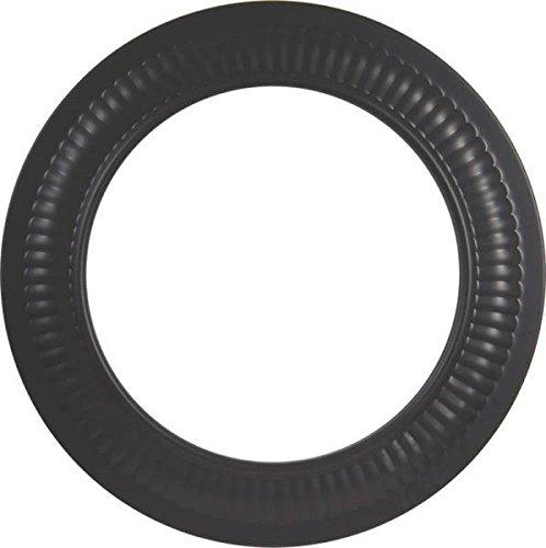 Imperial Bm0094 6 Inch Black Stove Pipe Heavy 24 Gauge Collar Trim Ring 0366716 (Collar Trim Stove Pipe)