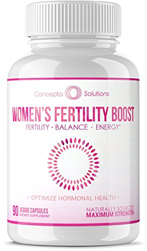 Women's Fertility Booster Hormonal Balance - Support for Egg Quality