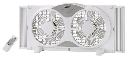 Window Fan 9 in Reversible Wht Homebasix BP2-9A