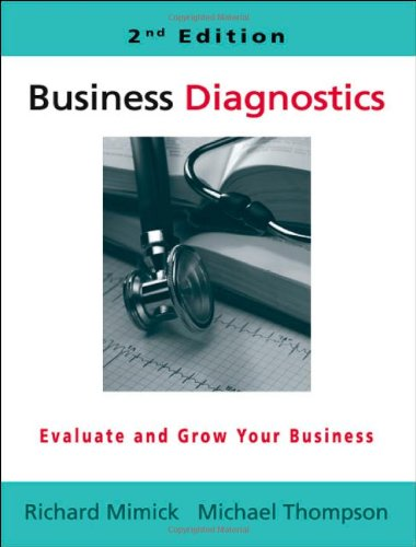 Download Business Diagnostics - 2nd Edition pdf