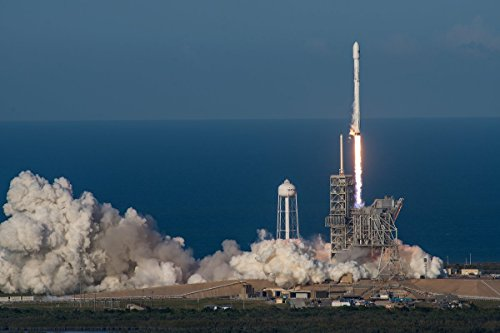 Fenggungun 3Rd Times The Charm For Spacex Comsat Launch Poster Prints 24X36 Inches