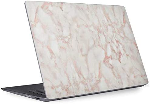 Amazon Com Skinit Decal Laptop Skin Compatible With Surface Laptop 2 Officially Licensed Skinit Originally Designed Rose Gold Marble Design
