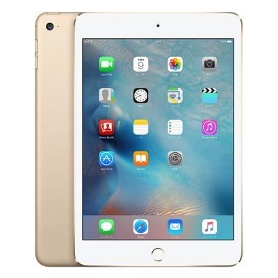 Apple iPad mini4 Wi-Fi Cellular (MK712J/A) 16GB ゴールド【国内版 SIMフリー】の商品画像