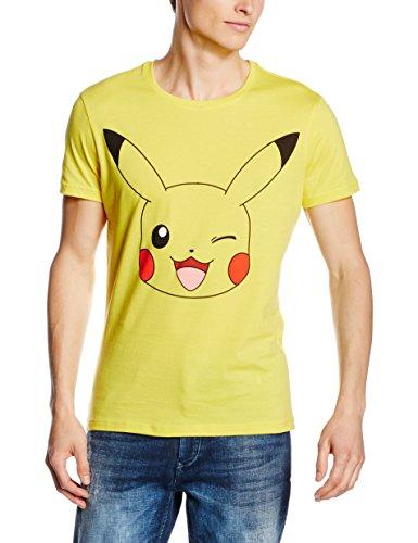 Giallo Meroncourt Winking shirtUomo Pikachu T dCxBoreW