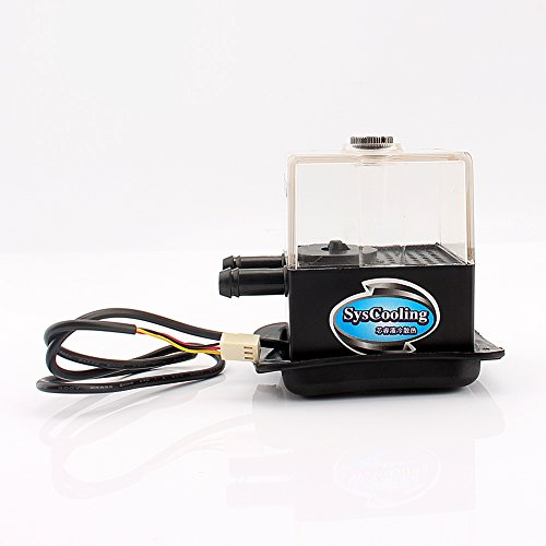 Yosoo 12V DC Low Noise Water pump&pump tank SC-300T for pc CPU Liquid Cooling System
