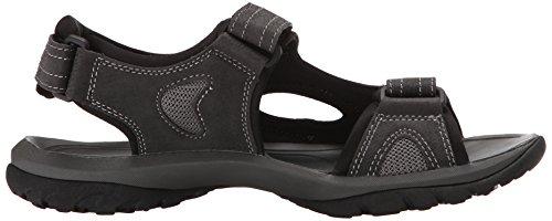 Dockers Mens Devon Gladiator Sandal Black/Grey/Grey HCf8yPT