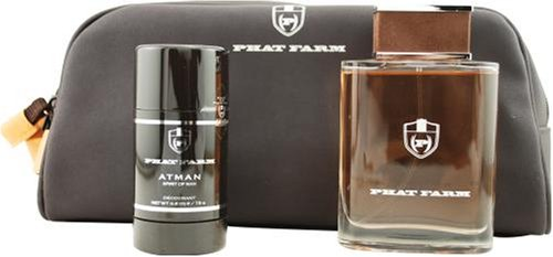 Atman Spirit Of Man by Phat Farm For Men. Set-edt Spray 3.4-Ounces & Deodorant Stick 2.6-Ounces & Toiletry Bag by Phat Farm (Image #1)