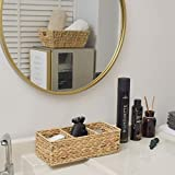 StorageWorks 3-Section Wicker Baskets for