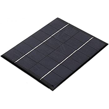 Amazon Com Small Solar Panel 6 0v 70ma With Wires
