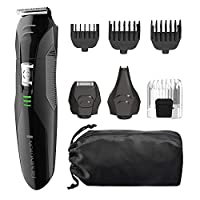 Remington PG6025 All-in-1 Lithium Powered Aseo Kit, Trimmer (8 Piezas)