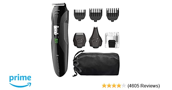 bfa5641a89 Amazon.com   Remington PG6025 All-in-1 Lithium Powered Grooming Kit ...