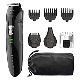 Remington PG6025 All-in-1 Lithium Powered Grooming Kit, Beard Trimmer (8 Pieces) - 41kbYvSnltL - Remington PG6025 All-in-1 Lithium Powered Grooming Kit, Beard Trimmer (8 Pieces)