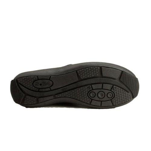 In acciaio inox, Scarpe antinfortunistiche donna Marie, colore: nero, Nero