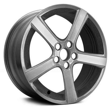New 18 inches Replacement Alloy Wheel Rims Compatible with Volvo C30 C70 V50 S40 Midir 2009-2011, 70339