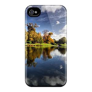 New Leeds Castle Grounds Skin Case Cover Shatterproof Case For Iphone 5/5s