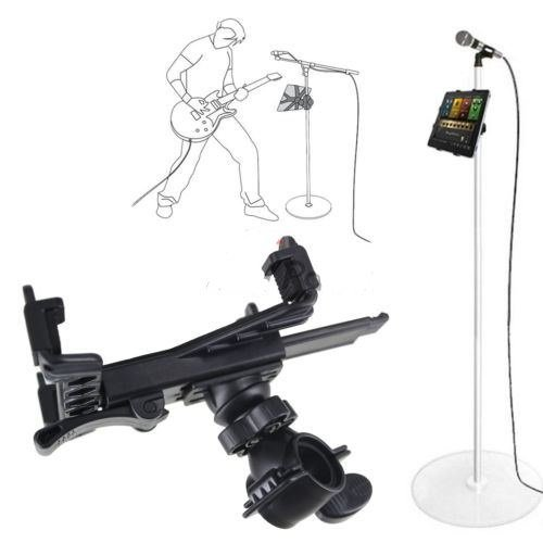 Music Microphone Stand Holder Mount For 7-11'' Tablet iPad Air 5 4 3 2 SamsungTab by Mount
