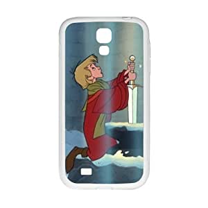 Happy Sword in the Stone Case Cover For samsung galaxy S4 Case