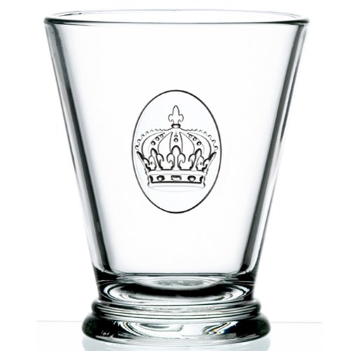 La Rochere Set Of 6, 10-ounce Crown Tumblers by La Rochere