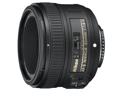 NIkon AF-S NIKKOR 50mm f/1.8G Len [International version, No warranty]