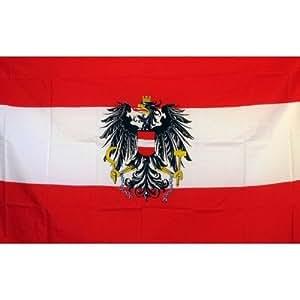 Austria Águila Bandera de país tradicional