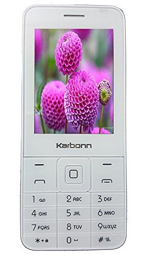 Karbonn Dual Sim K Phone 1  White Champagne