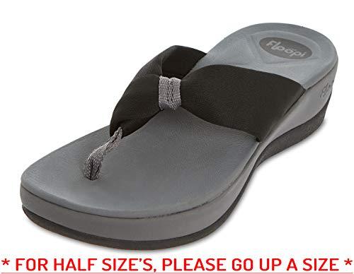 5051d074f3d5d Floopi Flip-Flop Summer Sandals for Women | Extreme Comfort EVA Technology  Soles | Thong, Open Toe Design| 1.75