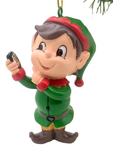 Tree Buddees Elfie Selfie Christmas Ornament ()