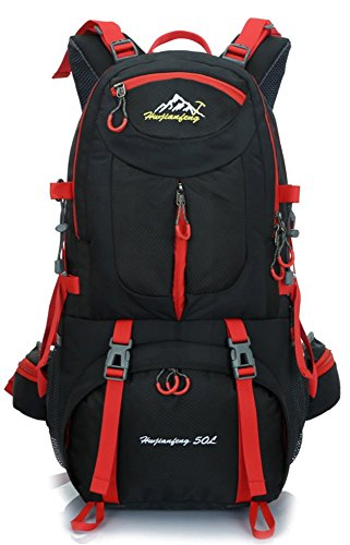 Ultraléger Nylon de Randonnée air de Alpinisme Sac Dos Noir Professionnel Sac plein Escalade Voyage avec à voyage en Camping Trekking Sport en BxW8naSc