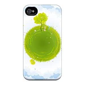 New Arrival CxJ10036Ffbg Premium For SamSung Galaxy S4 Mini Phone Case Cover (green Earth Vector)