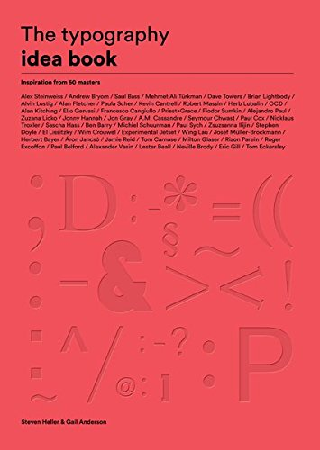 The Typography Idea Book: Inspiration from 50 Masters (Graphic Typography Design)
