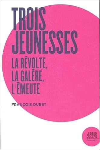 """Résultat de recherche d'images pour """"Trois jeunesses : la révolte, la galère, l'émeute"""""""