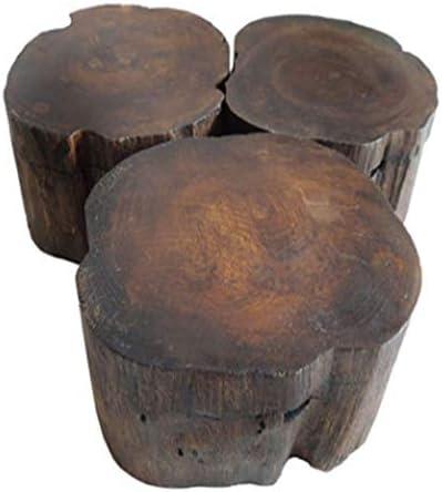 LAsie du Sud-Est Caract/éristiques Cendrier En Bois Massif Personnalit/é En Bois Avec Couvercle Cendrier Spa Table D/écoration Cendrier