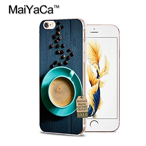 Blue Brown Coffee Themed iPhone Xs Max Plus Sized Case, Bigger Screen Hot Cozy Drink Cover Cappuccino Caffine Espresso Warm Black Cafe Bistro Brew Beans Love Happy Mocha Drinking, - Bistro Bath