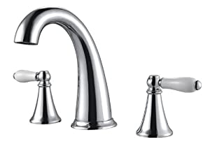 Pfister F049KYCC Kaylon 2-Handle 8 Inch Widespread Bathroom Faucet in Polished Chrome on sale