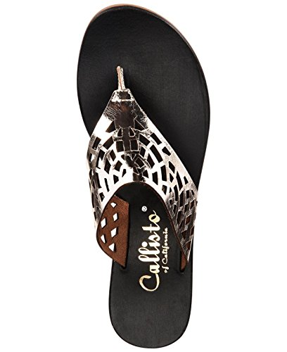 Open Womens Callisto Gold Dominica Toe Casual EFRAUqnRxd