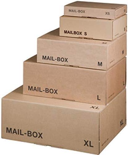 Smartbox Pro 212101420 - Paquete de 20 cajas para embalaje, 400 x 260 x 145 mm: Amazon.es: Oficina y papelería