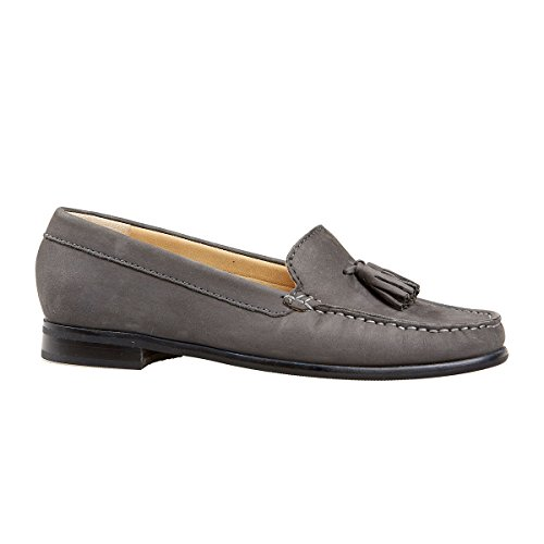 Van Dal Shoes Womens Whitford II Loafers in Storm Nubuck
