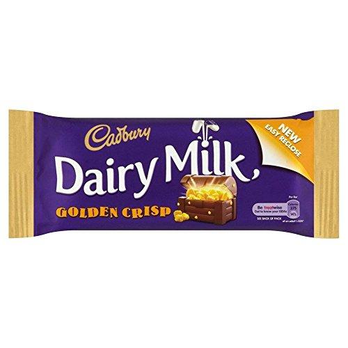 Cadbury Dairy Milk Golden Crisp Bar (54g) - Pack of 6 ()