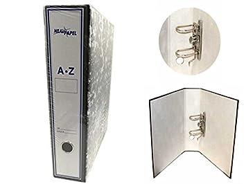 Casaimabo - Archivador cartón de palanca con caja cartón (10): Amazon.es: Oficina y papelería