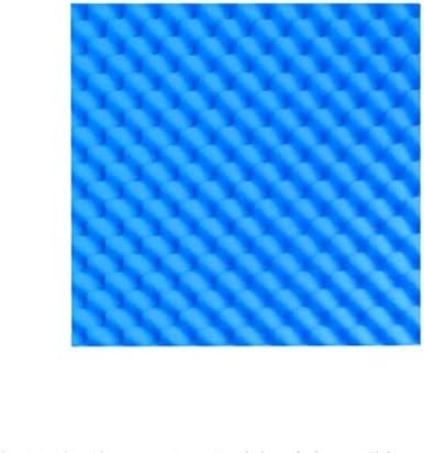 オフィスの音響パネル、屋内ホテルの吸音性の綿の音響の絶縁材のパネル20PCSを取付けること容易な色柔らかい (Color : Blue)