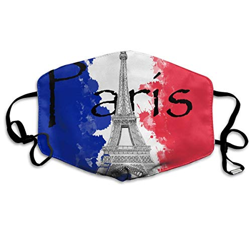 Eiffel Tower Costumes Three People - French Flag and The Eiffel Tower