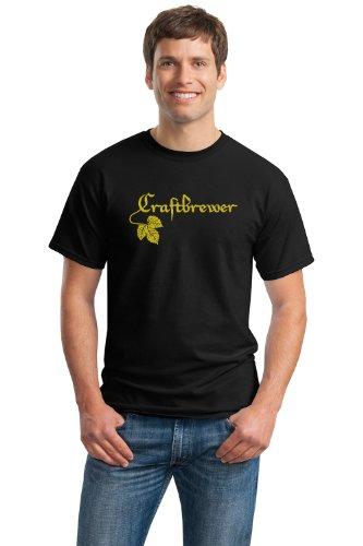 CRAFTBREWER Unisex T-shirt / Home Brew, Craft Brewer Enthiast Beer Tee